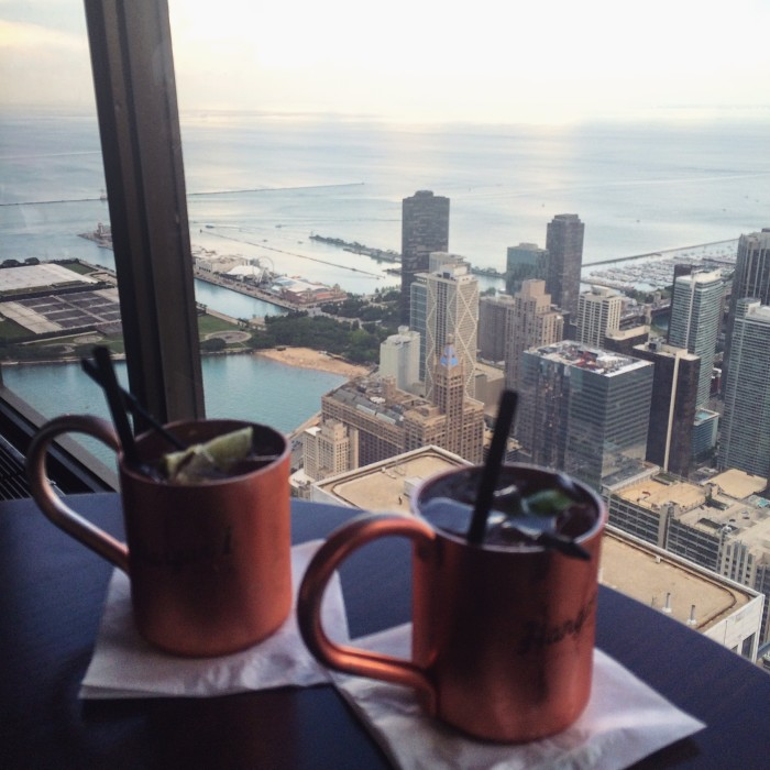 Weekend Guide to Chicago - Drinks at the Signature Lounge | TheWeekendJetsetter.com