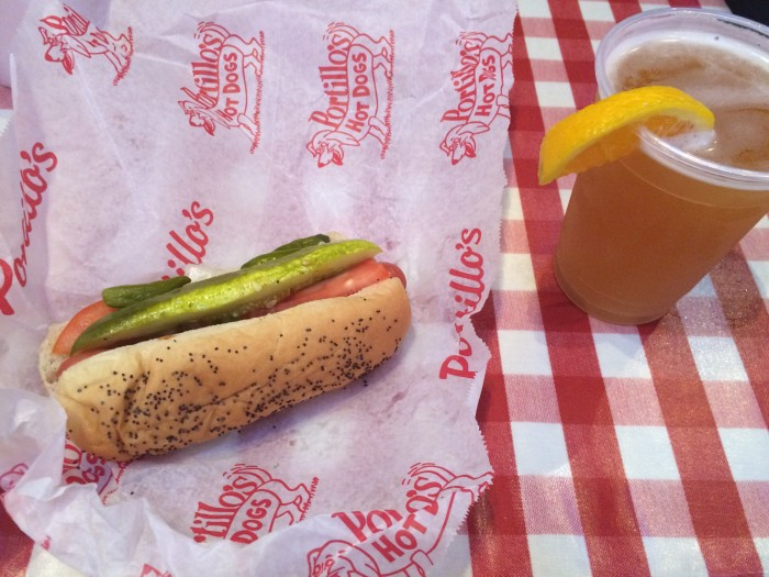 Portillo's Hot Dog in Chicago | TheWeekendJetsetter.com