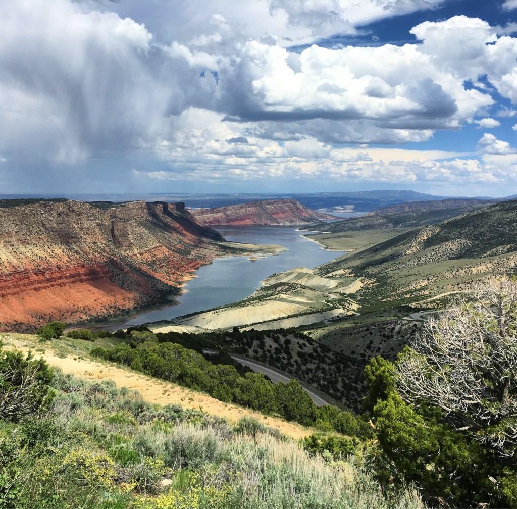Flaming Gorge, Utah, I-80 Road Trip | TheWeekendJetsetter.com