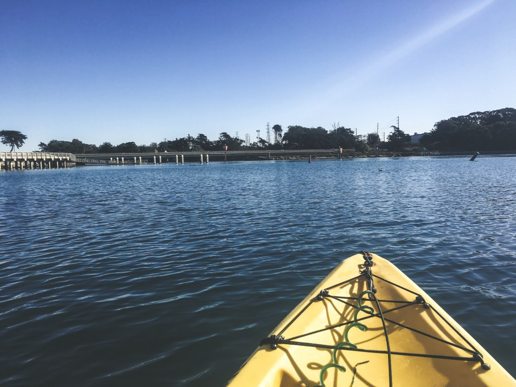 Kayaking Elkhorn Slough in California | TheWeekendJetsetter.com