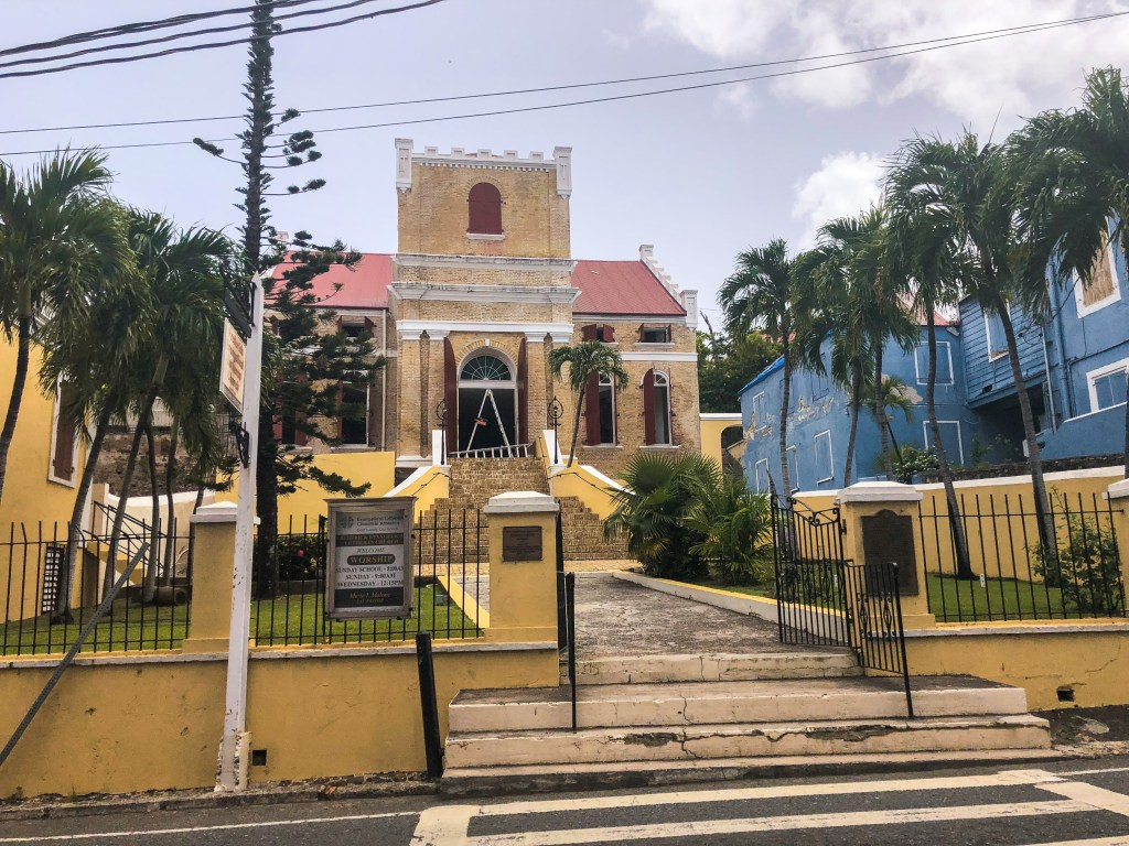Church, Charlotte Amalie TourVirgin Islands, 3-Day Itinerary | TheWeekendJetsetter.com
