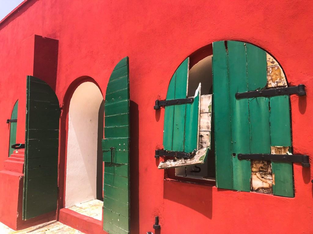 Fort Christian, Charlotte Amalie USVI Walking Tour | TheWeekendJetsetter.com