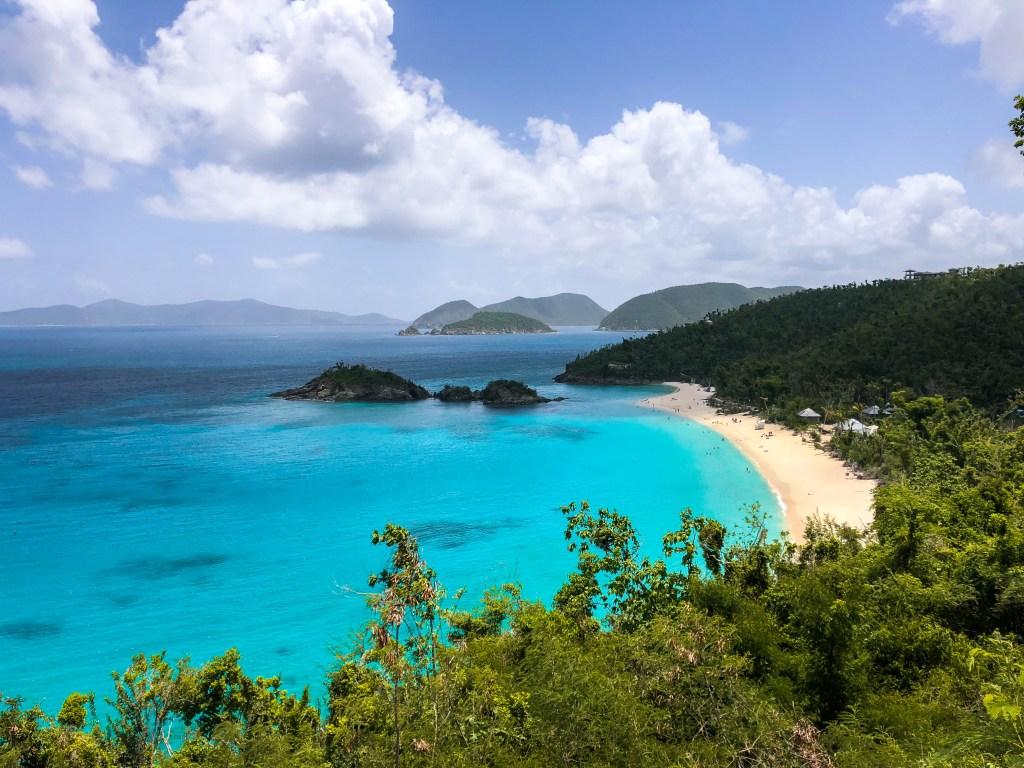 Trunk Bay, St. John, USVIVirgin Islands, 3-Day Itinerary | TheWeekendJetsetter.com