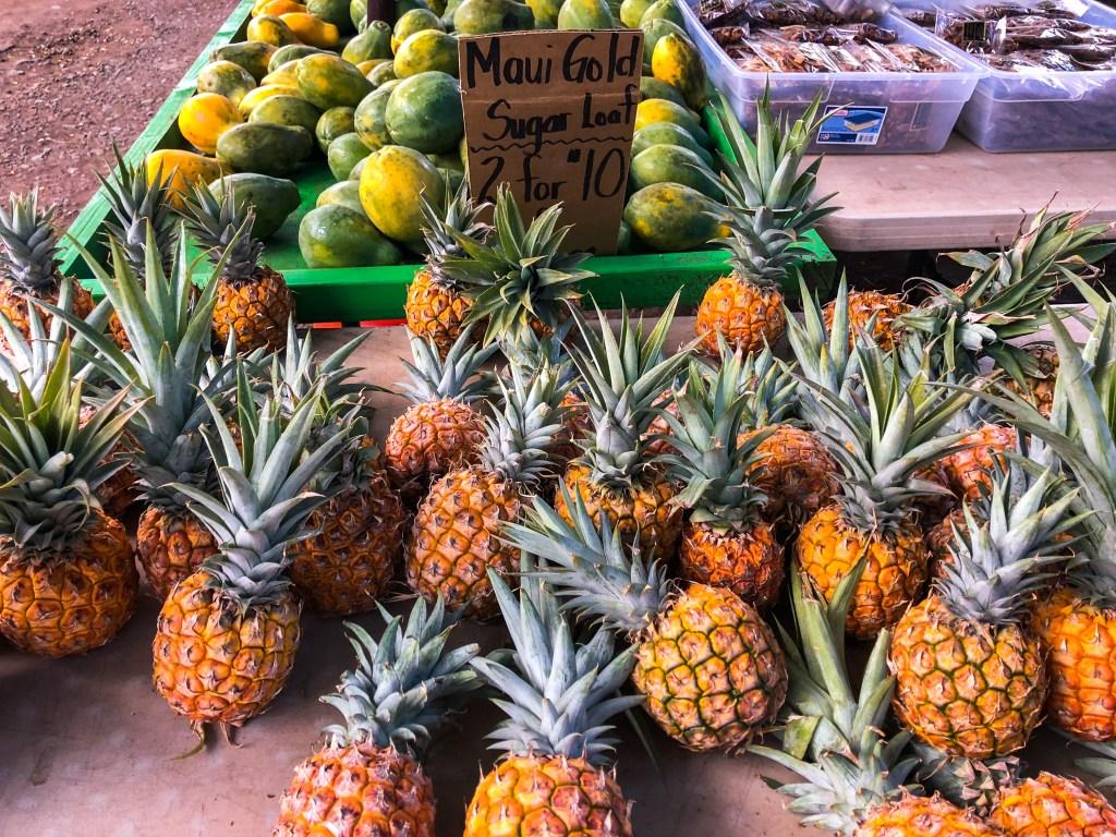 Maui Gold Pineapples, Lahaina | TheWeekendJetsetter.com