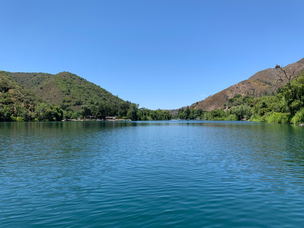 Blue Lakes, Northern California, Lake County