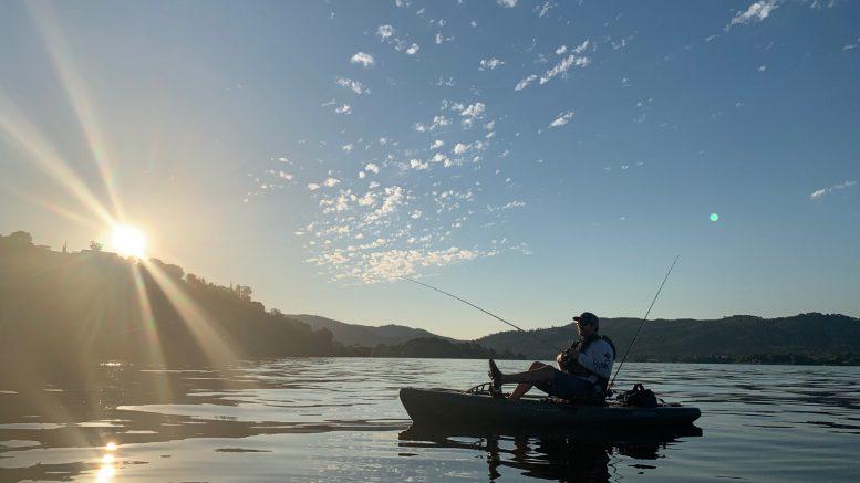Weekend in Lake County, California, Fishing, Clear Lake, kayak