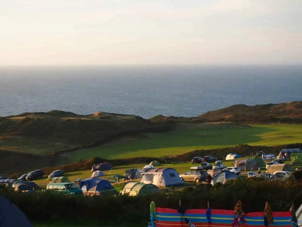 north morte farm campsite