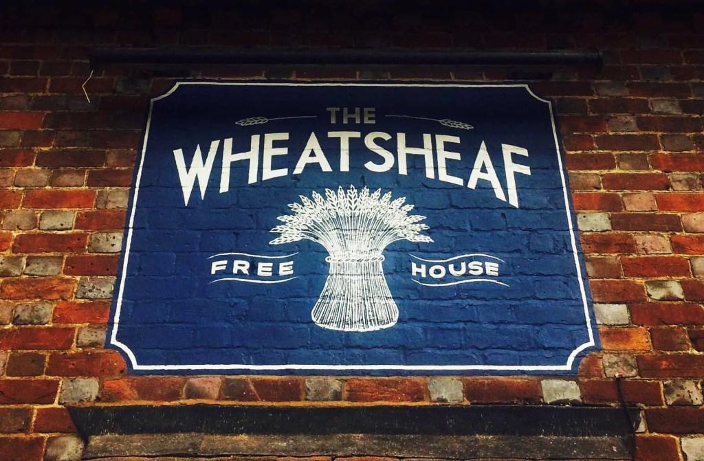 Wheatsheaf+Sign