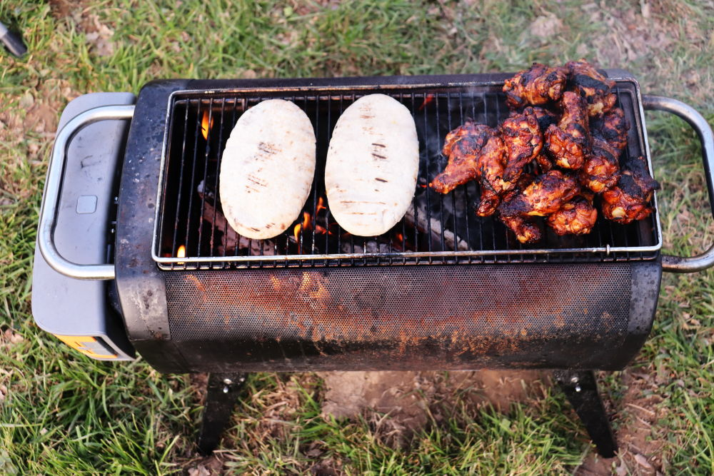 biolite+ firepit as a grill