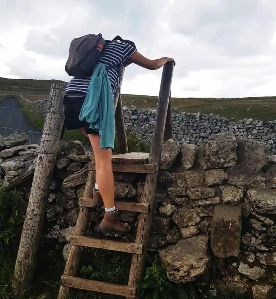 Hiking Goredale Scar