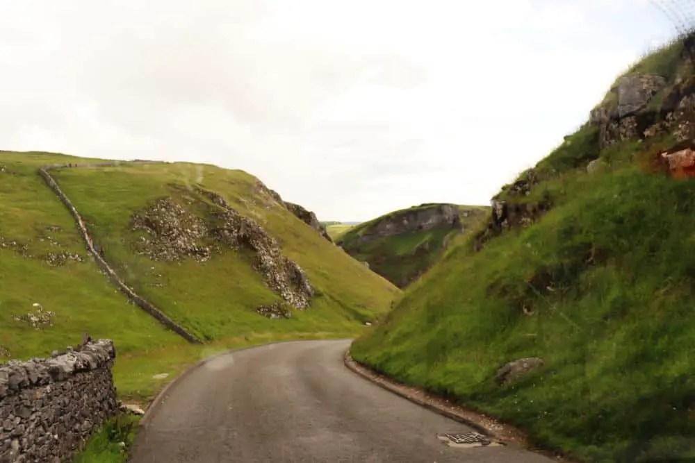 Descending Winnats Pass