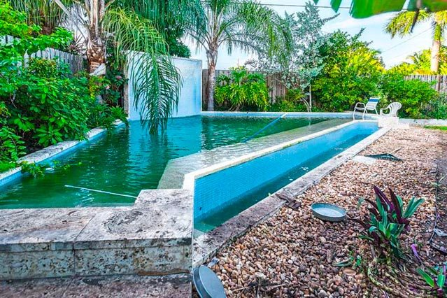 Spacious single-family home in a quiet, family-friendly location in New Town Key West. Large lot with a pool that is one- of-a-kind. Just minutes from shopping and Old Town and currently priced at $499,900. To list your property, contact Jimmy Lane at: www.JimmyLane.com or call 305-292-