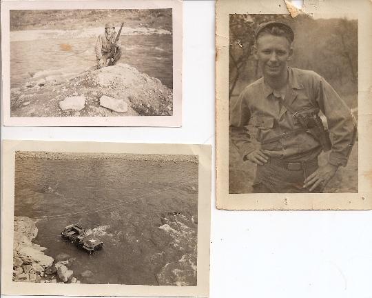 Al Murphy, in his early 20s, in the heart of the Korean War