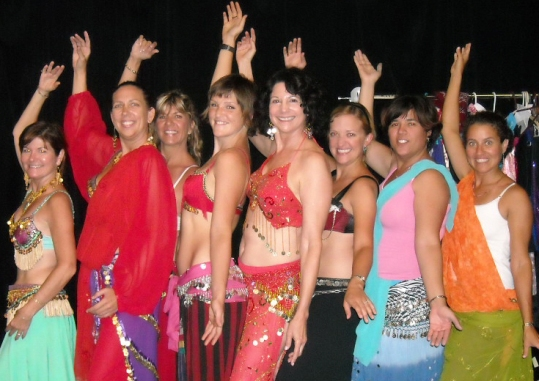 Pictured, from left: Left to right: Terry McBroom, Cheri Edwards, Trish Hintze, Zoe Hippel, Joy Wagner, Laura Fowler, Zulma Jimenez, Maria Luther