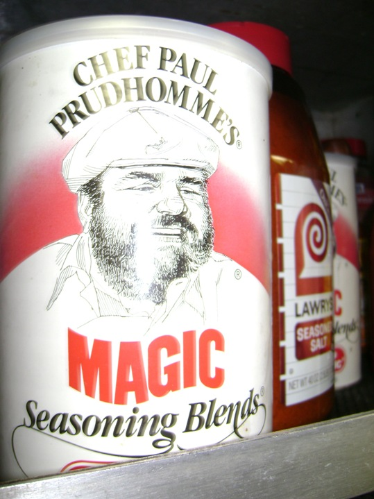 Thorton uses Chef Paul Prudhomme's MAGIC Seasoning Blends to shake up the taste of seafood!
