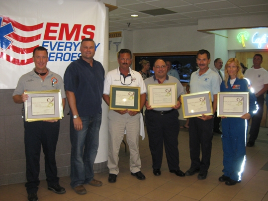 Lower Keys Medical Center recognized Key West and Monroe County Emergency Medical Services (EMS) professionals