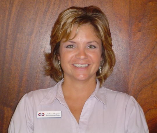 Jo Ann Wagner becomes branch manager