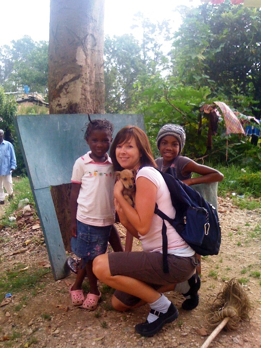 Local Women Working Firsthand in Devastated Country
