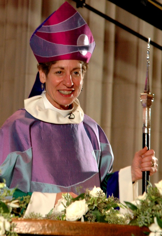 The Roman Catholic Church has the Pope, and the Episcopal Church has the Presiding Bishop.On Sunday, December 19, The Most Rev. Katharine Jefferts Schori will descend on the Middle Keys community and help commemorate the 50th anniversary of one of Marathon's most historic churches.