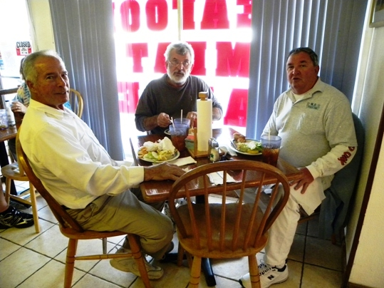 Gary Washington, Jim Darlymple and Rich Dorn are among the carry-overs from the days of the Grassy Key Dairy Bar