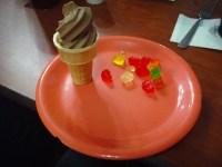 Gummy Bears with Ice Cream