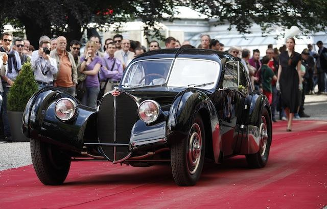 The nearly 75-year-old Bugatti is one of only two remaining