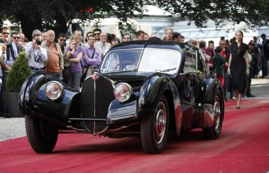 The nalry 75-year-old Bugatti is one of only two remaining