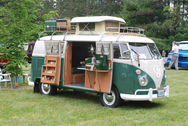The 1967 Volkswagen camper.