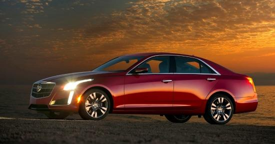 2014 Cadillac CTS Vsport T