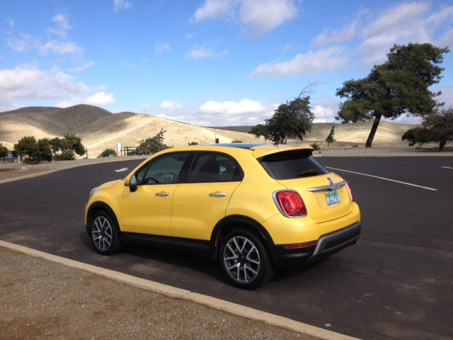 The 2016 500X is a new subcompact SUV for the Italian carmaker.
