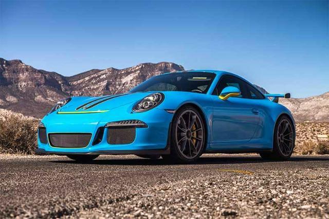 Las Vegas-based exotic car rental company fulfills driving fantasies