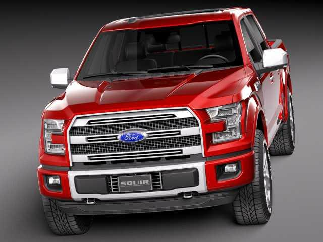 2018 FORD F-150: Diesel, 10-speed transmission debut
