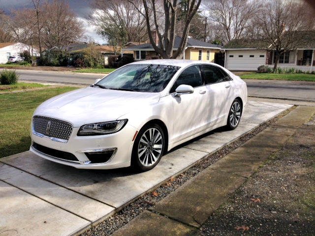 The 2017 Lincoln MKZ Hybrid is a luxury sedan priced fairly.