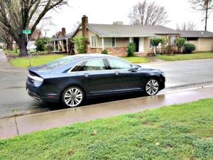 The 2017 Lincoln MKZ has has received an exterior facelift.