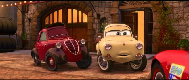 Cars3 continues the poplar animated car movie series.
