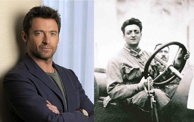 Hugh Jackman will play Enzo Ferrari in a new movie about the famous carmaker and driver.