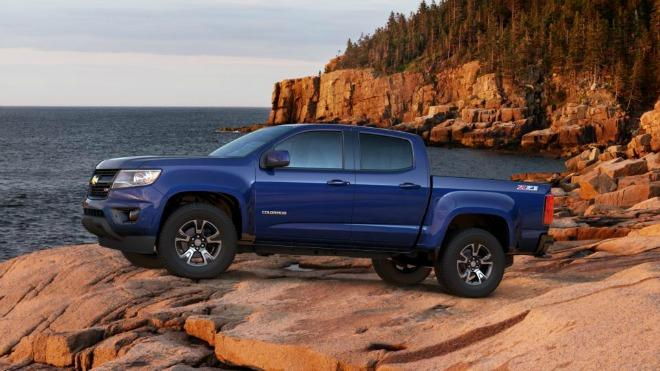 A 2017 Chevrolet Colorado is the top prize in a charity auction for earthquake preparedness.