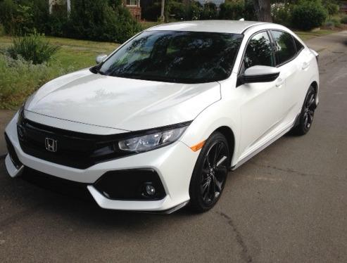 The 2017 Honda Civic hatchback marks the return of the trim.