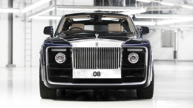 The one-of-a-kind Rolls-Royce Sweptail cost an estimated $12.8 million.
