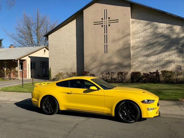 2018 Ford Mustang: Less is more with EcoBoost model