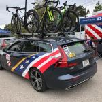 The USA Cycling National Team has a new relationship with Volvo during the 2019 Amgen Tour of California. All images © James Raia/2019