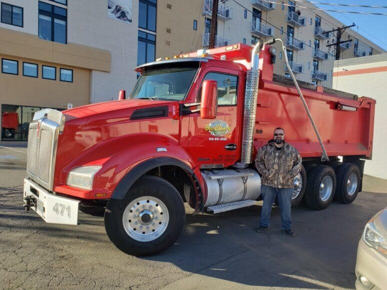 Adam Fry and his crew from Big Country Restoration and Transport in West Sacrameto are part of the massive cleanup project from the devasting Paradise last November.