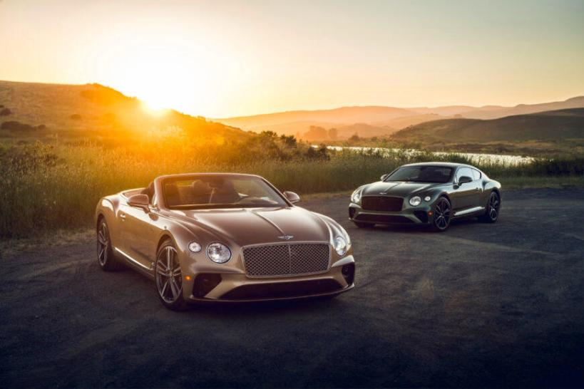 The Bentley Continental GT V8 (coupe and convertible) will be part of the iconic carmaker's celebration during Monterey Auto Week.