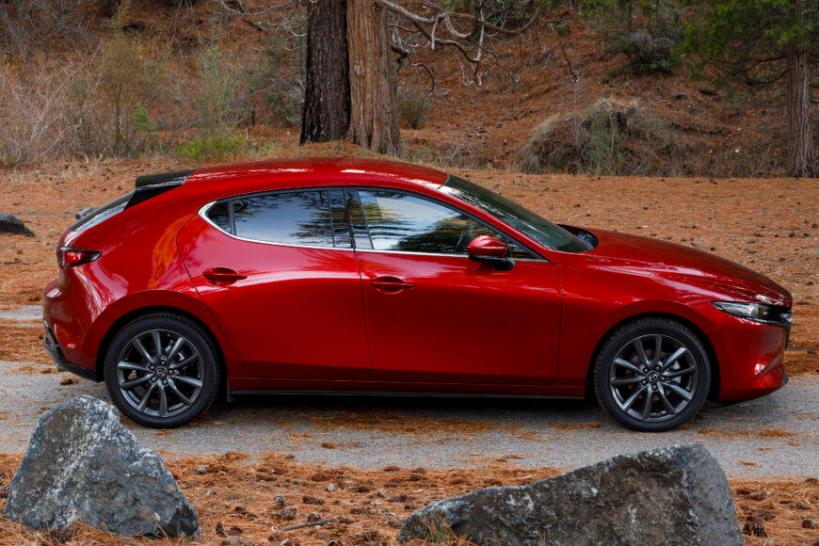 The 2019 Mazda3 has been redesigned with more interior space and increased horsepower.