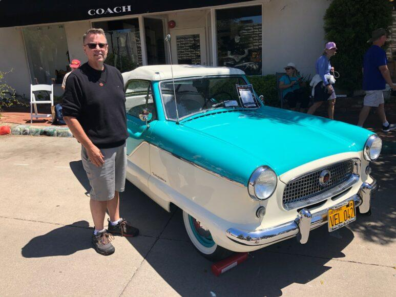 Mark Aldrich drives a 1959 Metro 1500 convertible