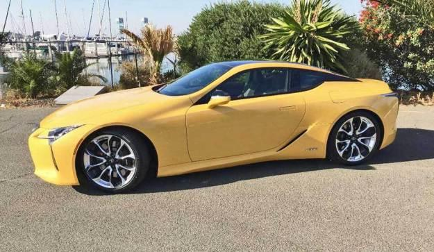 The 2020 Lexus LC 500h stands alone in its class.