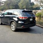 The 2014 Toyota Highlander has a new rear light design.