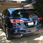 The 2016 Acura RDX is a five-passenger compact SUV.