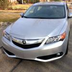 The 2014 Acura ILX has the carmaker's signature front grille.