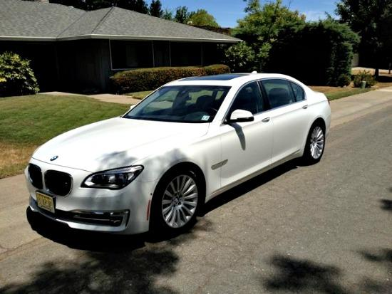 The 2013 BMW 750 Li has been restyled